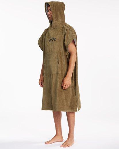 7 Hooded Towel Brown ABYWW00116 Billabong