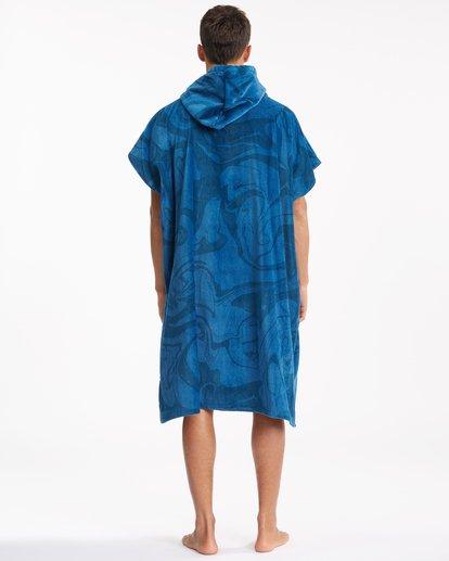 2 Hooded Towel Blue ABYWW00116 Billabong