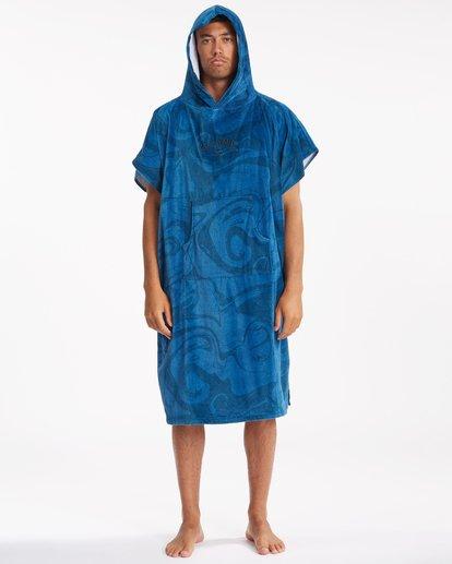 1 Hooded Towel Blue ABYWW00116 Billabong