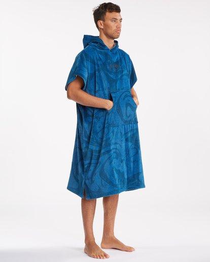 6 Hooded Towel Blue ABYWW00116 Billabong