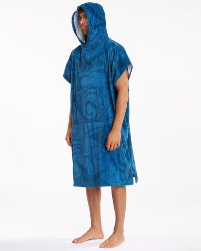7 Hooded Towel Blue ABYWW00116 Billabong