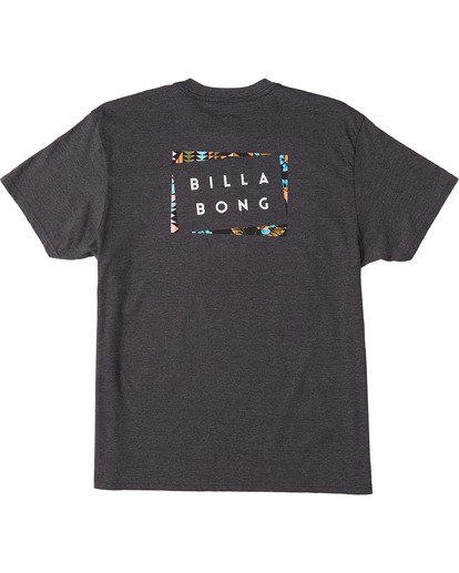 4 Diecut Short Sleeve T-Shirt Black ABYZT00107 Billabong