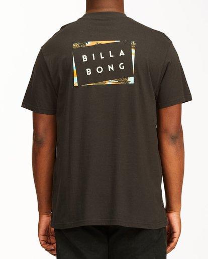 2 Diecut Short Sleeve T-Shirt Black ABYZT00107 Billabong