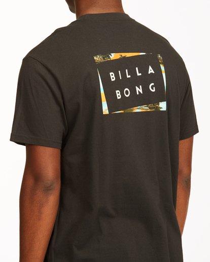 3 Diecut Short Sleeve T-Shirt Black ABYZT00107 Billabong