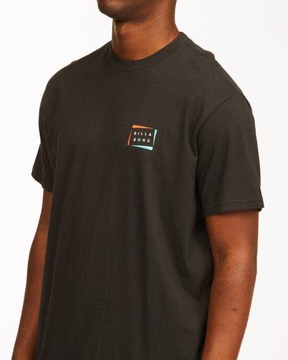 4 Diecut Short Sleeve T-Shirt Black ABYZT00107 Billabong