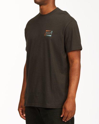 1 Diecut Short Sleeve T-Shirt Black ABYZT00107 Billabong