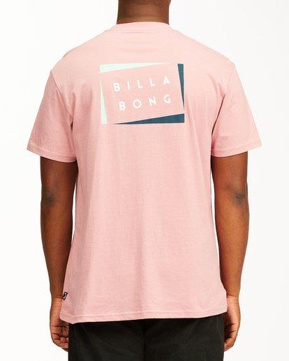 2 Diecut Short Sleeve T-Shirt Multicolor ABYZT00107 Billabong