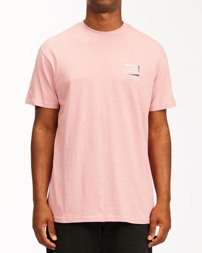 0 Diecut Short Sleeve T-Shirt Multicolor ABYZT00107 Billabong