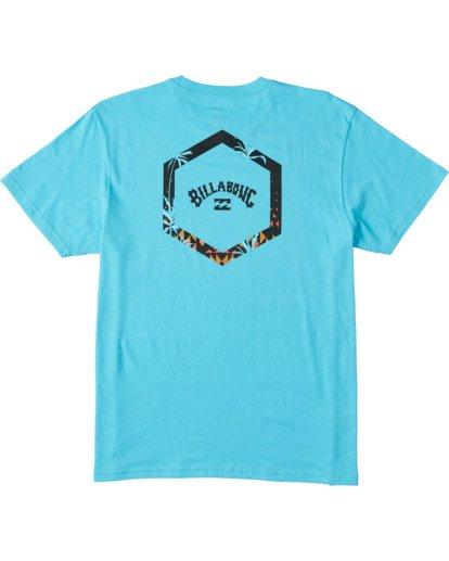 4 Access Short Sleeve T-Shirt Blue ABYZT00109 Billabong