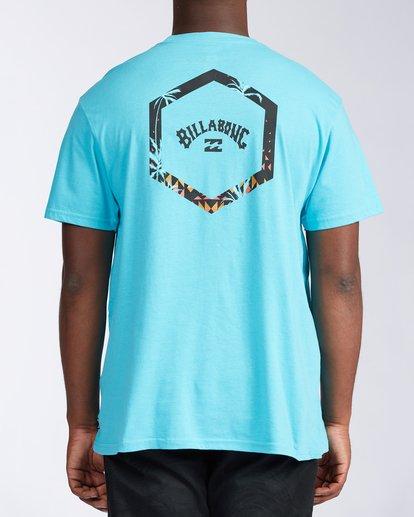 2 Access Short Sleeve T-Shirt Blue ABYZT00109 Billabong