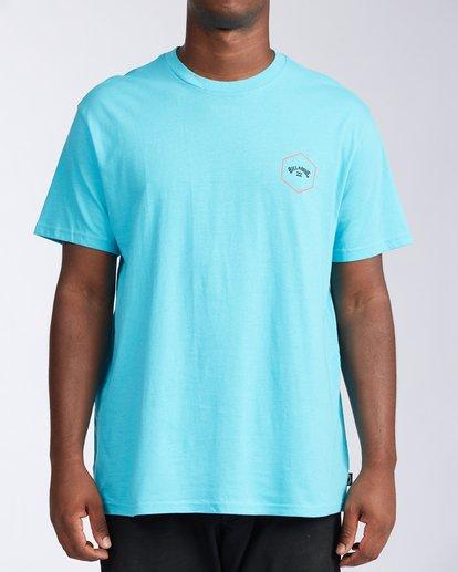 0 Access Short Sleeve T-Shirt Blue ABYZT00109 Billabong
