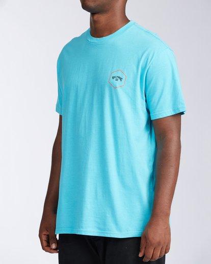 1 Access Short Sleeve T-Shirt Blue ABYZT00109 Billabong