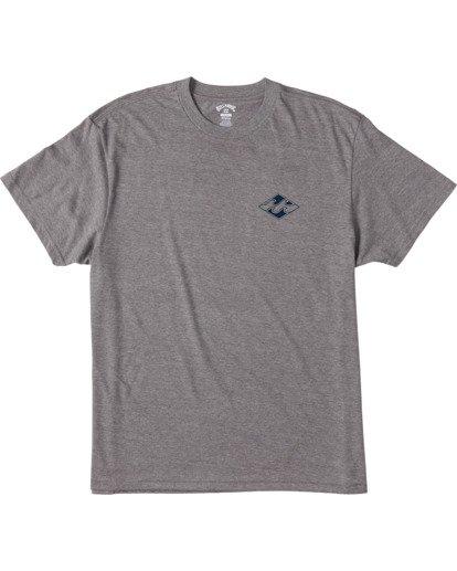 3 Crayon Wave Short Sleeve T-Shirt Green ABYZT00110 Billabong