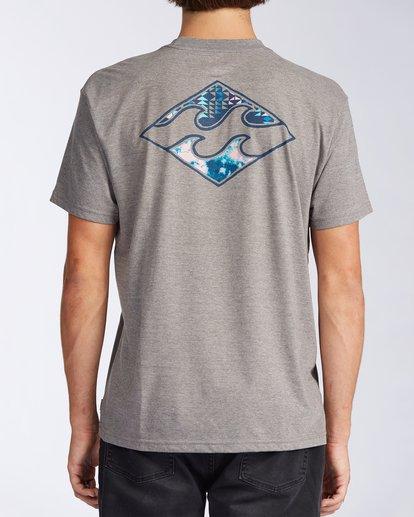 2 Crayon Wave Short Sleeve T-Shirt Green ABYZT00110 Billabong