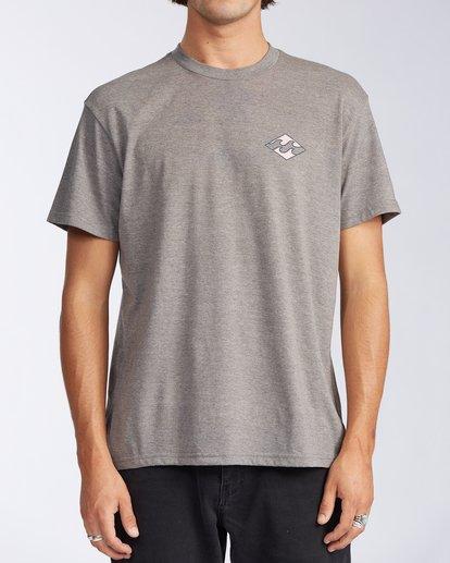 0 Crayon Wave Short Sleeve T-Shirt Green ABYZT00110 Billabong