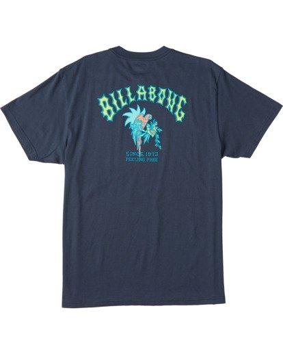 4 Arch Short Sleeve T-Shirt Blue ABYZT00111 Billabong