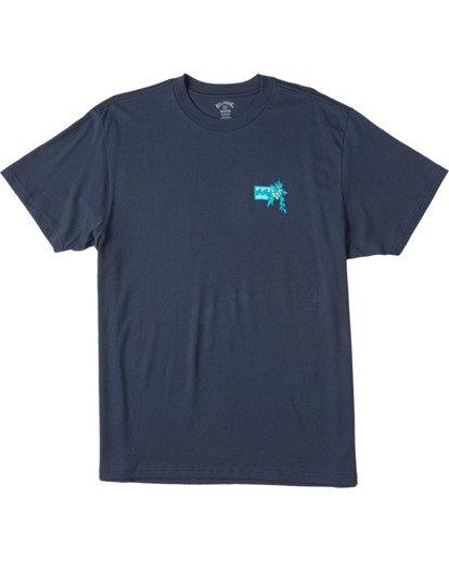 3 Arch Short Sleeve T-Shirt Blue ABYZT00111 Billabong