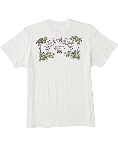 4 Arch Short Sleeve T-Shirt White ABYZT00111 Billabong