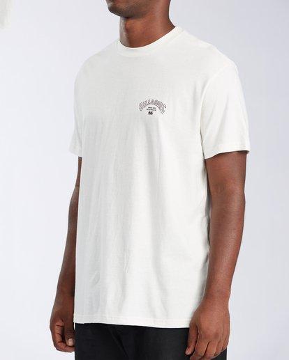 1 Arch Short Sleeve T-Shirt White ABYZT00111 Billabong