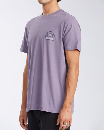 1 Tanzania Short Sleeve T-Shirt Purple ABYZT00114 Billabong