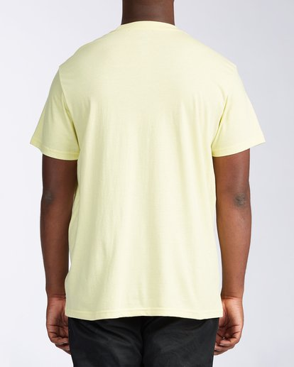 2 Olas Short Sleeve T-Shirt Yellow ABYZT00116 Billabong