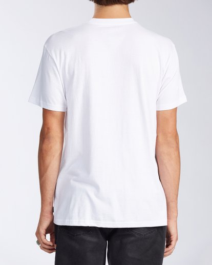 2 Olas Short Sleeve T-Shirt White ABYZT00116 Billabong
