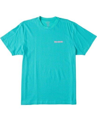 0 Native Stripe Short Sleeve T-Shirt Grey ABYZT00119 Billabong