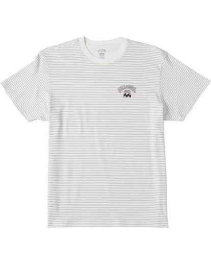 0 Native Stripe Short Sleeve T-Shirt White ABYZT00119 Billabong