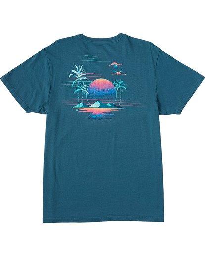 6 Desert Oasis Short Sleeve T-Shirt Blue ABYZT00129 Billabong