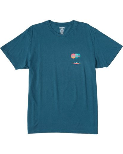 5 Desert Oasis Short Sleeve T-Shirt Blue ABYZT00129 Billabong