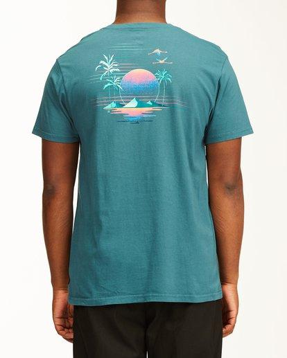 2 Desert Oasis Short Sleeve T-Shirt Blue ABYZT00129 Billabong