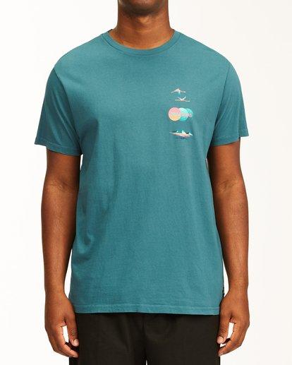 0 Desert Oasis Short Sleeve T-Shirt Blue ABYZT00129 Billabong