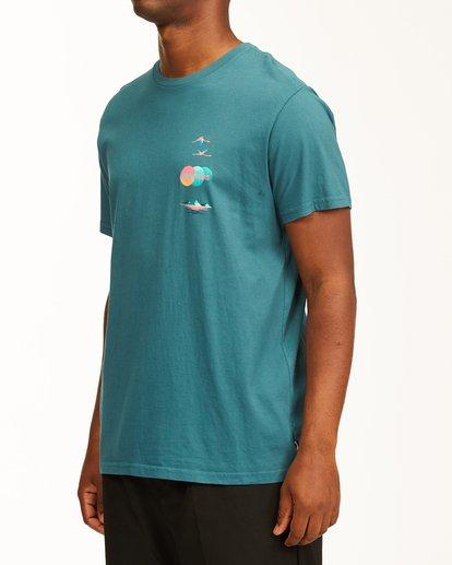 1 Desert Oasis Short Sleeve T-Shirt Blue ABYZT00129 Billabong