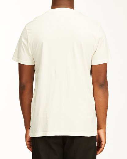 2 Scarlet Short Sleeve Wave Washed T-Shirt White ABYZT00130 Billabong