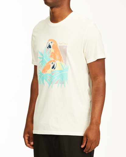 1 Scarlet Short Sleeve Wave Washed T-Shirt White ABYZT00130 Billabong