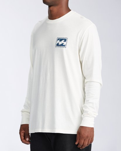 1 Crayon Wave Long Sleeve T-Shirt White ABYZT00133 Billabong