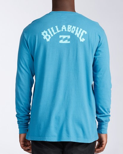 2 Arch Wave Long Sleeve T-Shirt Blue ABYZT00134 Billabong