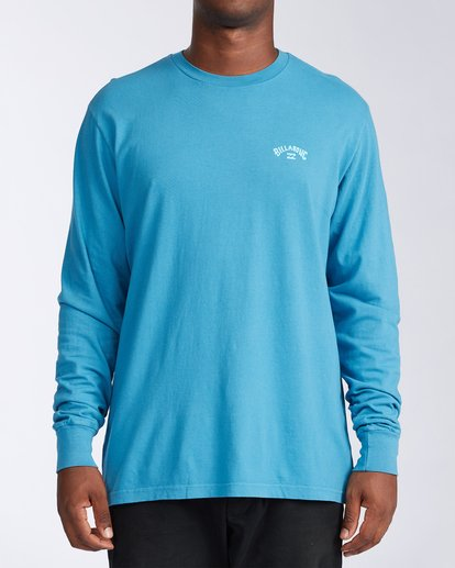 0 Arch Wave Long Sleeve T-Shirt Blue ABYZT00134 Billabong