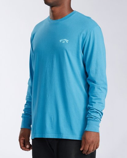 1 Arch Wave Long Sleeve T-Shirt Blue ABYZT00134 Billabong