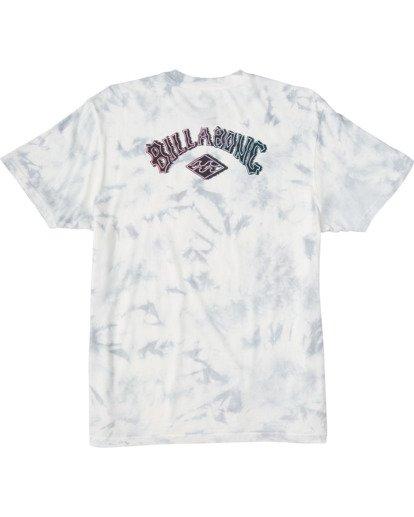 4 Arch Tie Dye Short Sleeve T-Shirt White ABYZT00140 Billabong