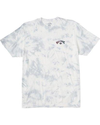 3 Arch Tie Dye Short Sleeve T-Shirt White ABYZT00140 Billabong