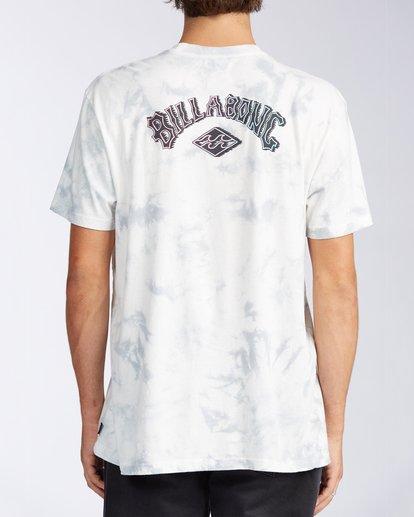 2 Arch Tie Dye Short Sleeve T-Shirt White ABYZT00140 Billabong
