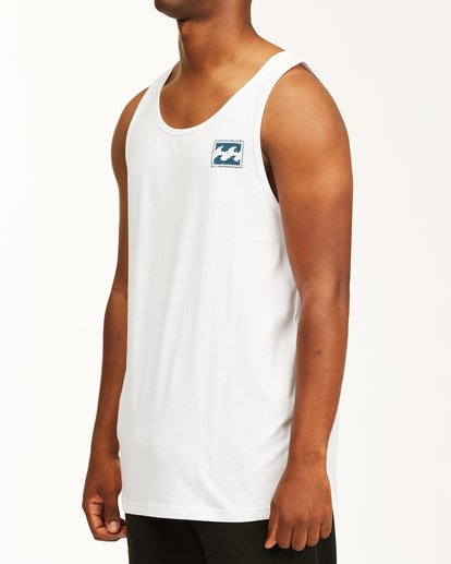 1 Crayon Wave Tank Top White ABYZT00142 Billabong