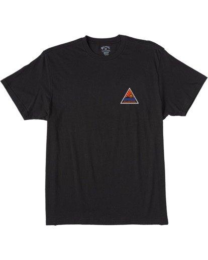 3 Trailblazer Short Sleeve T-Shirt Black ABYZT00145 Billabong