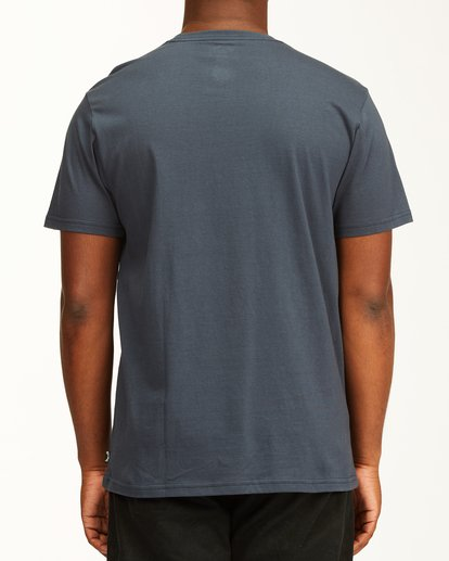 2 Team Wave Mini Pocket T-Shirt Blue ABYZT00147 Billabong