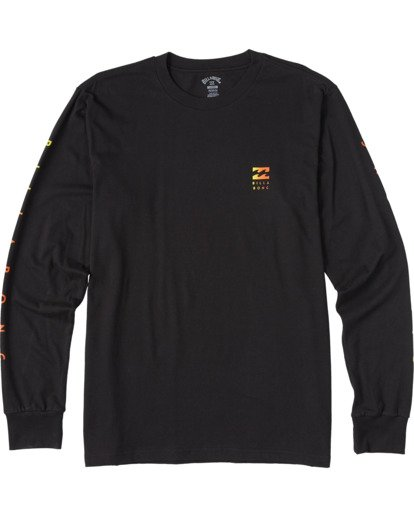 4 Unity Long Sleeve T-Shirt Black ABYZT00150 Billabong
