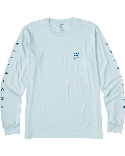 4 Unity Long Sleeve T-Shirt Blue ABYZT00150 Billabong