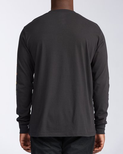 3 Unity Long Sleeve T-Shirt Black ABYZT00150 Billabong