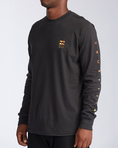1 Unity Long Sleeve T-Shirt Black ABYZT00150 Billabong