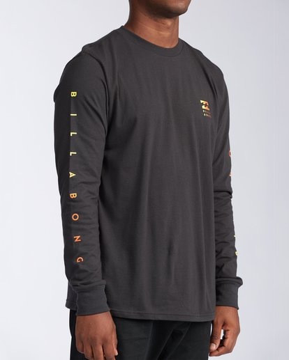 2 Unity Long Sleeve T-Shirt Black ABYZT00150 Billabong